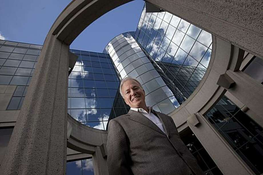 Swayne Hill, CEO of Cloud9analytics, a Software as a Service (SaaS) company poses for a photograph at his office on May 28, 2010 in Redwood City, Calif. Photograph by David Paul Morris/Special to the Chronicle Photo: David Paul Morris, Special To The Chronicle
