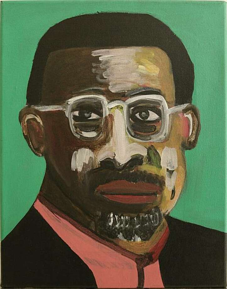 """Frederick Hayes chronicles the African-American, blue-collar and urban experiences in his portraits, like """"Cedric,"""" cityscapes and other works on view at the Patricia Sweetow Gallery. Photo: Patricia Sweetow Gallery"""