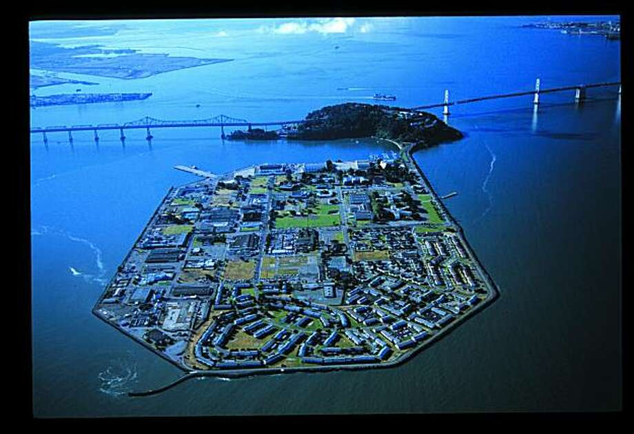 "TREASURE ISLANDThe island created for the 1939 World's Fair as seen in James Martin's book ""The Islands of San Francisco Bay."" Photo: Courtesy Of James A. Martin"