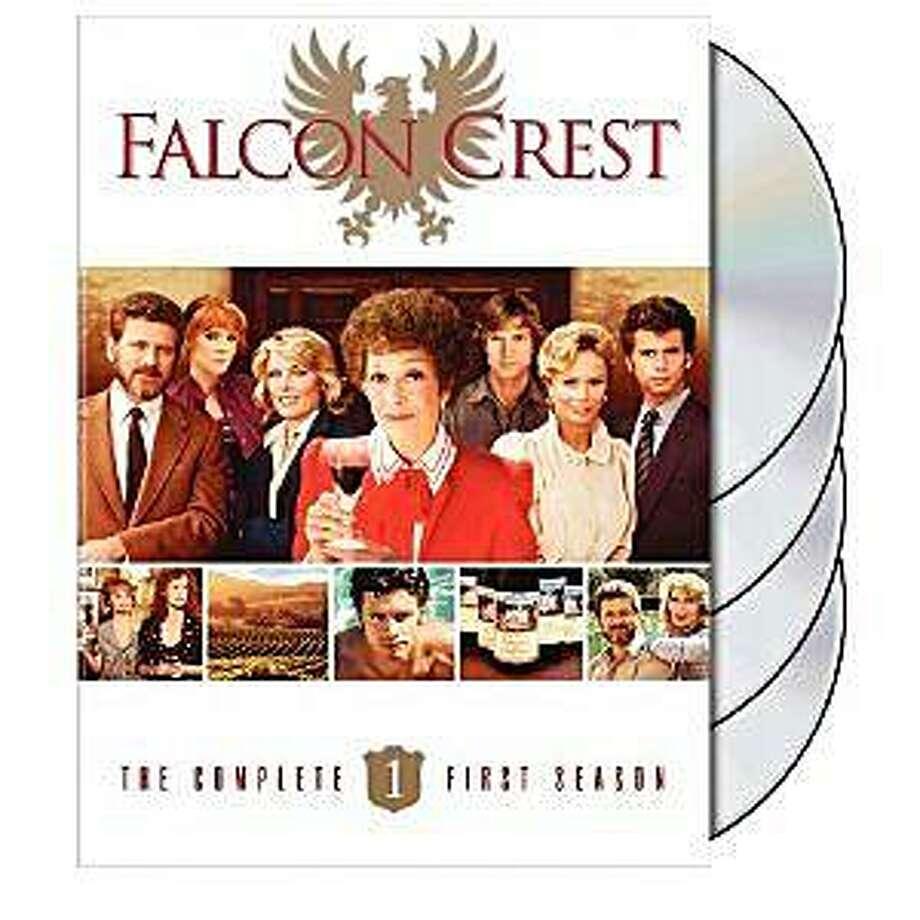 dvd cover FALCON CREST: COMPLETE FIRST SEASON Photo: Amazon.com