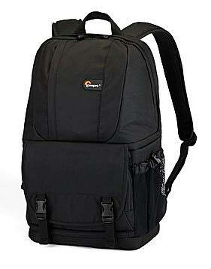 The Fastback 200 camera bag/backpack made by LowePro. Photo: LowePro