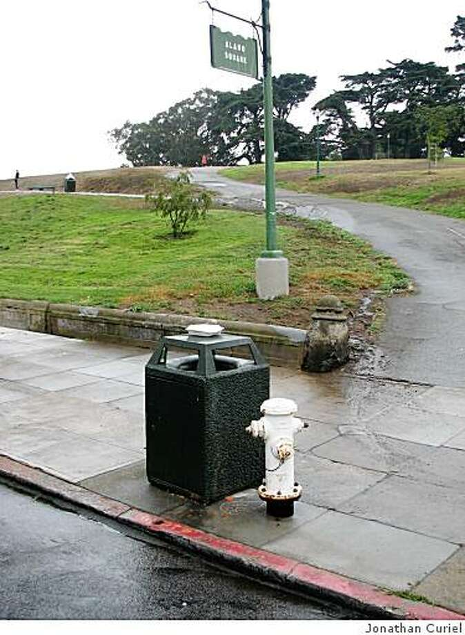 Leak at Alamo Square in San Francisco Photo: Jonathan Curiel