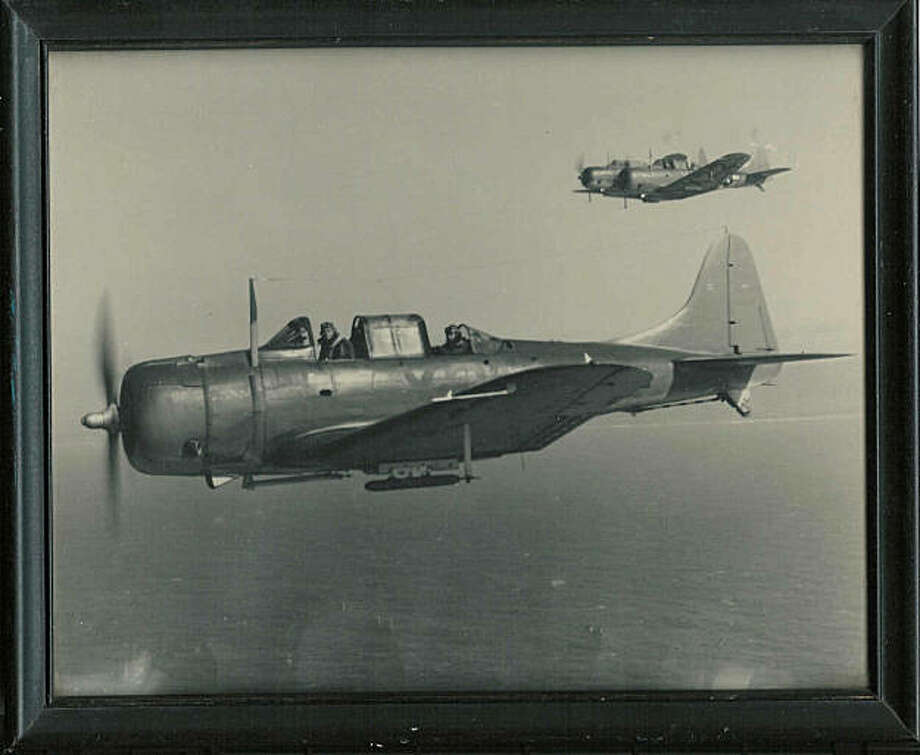 A SB2C Helldiver like this one has rested on the bottom of a San Diego reservoir for more than six decades Photo: Handout