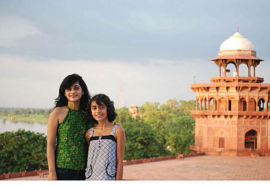 TRAVEL JUSTBACK -- Radhika Thapa, Palo AltoEmail: radhika@sbsinc.netDaytime phone number: 650 856 9074Just back from: Agra, IndiaI went because: I wanted my daughter to see the Taj Mahal, one of the seven wonders of the worldDon't miss: The Taj Mahal at sun rise. The white marble turns an enchanting shade of pink....and glows!Don't bother: Shopping in Agra. It is a tourist trap with a lot of overpriced schlock!Coolest souvenir: My photographsWorth a splurge: A stay at the Amarvilas Hotel. You can sit in your balcony, sipping tea and watching the sun rise over the Taj (just 600 feet away).I wish I'd packed: You can buy everything you need, there.Other comments: The Taj mahal is exquisite, but Agra does not merit a long stay. It is a crowded, ugly town. There are much prettier places in IndiaDetails of attached photo (if sent): Radhika Thapa and her daughter Isha in Agra.7/10/08 in , .agra_india.JPG