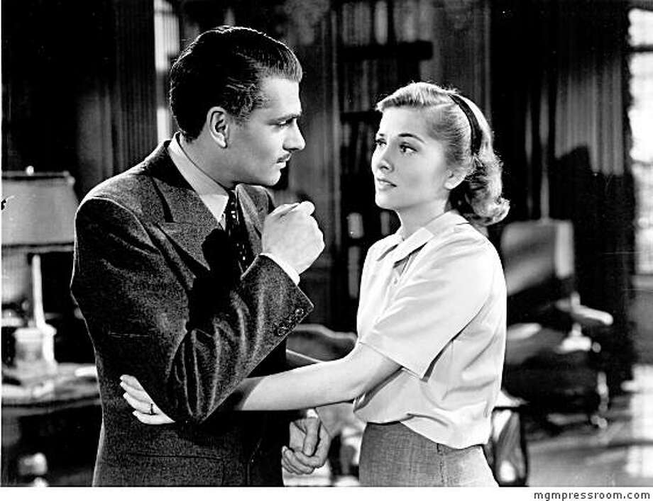 Laurence Olivier and Joan Fontaine in REBECCA Photo: Mgmpressroom.com