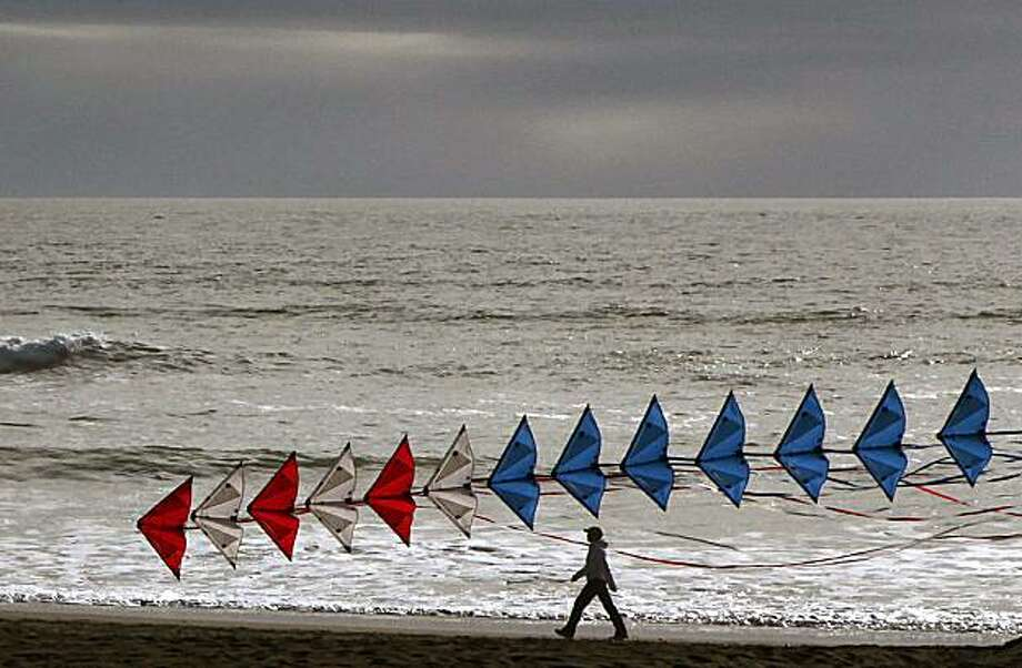 Ocean Beach in San Francisco, Calif., had the highest San Francisco beach rating from the Heal the Bay report card on Tuesday, May 25, 2010. Photo: Liz Hafalia, The Chronicle