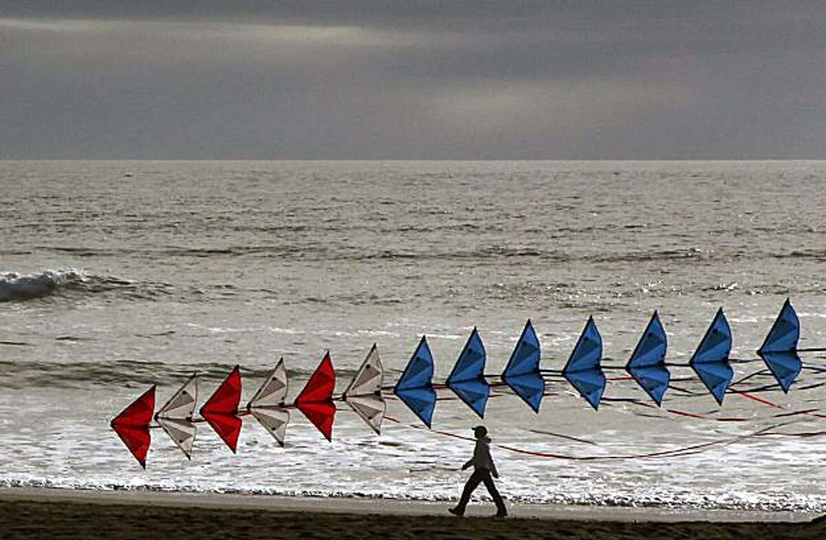 Ocean Beach in San Francisco, Calif., had the highest San Francisco beach rating from the Heal the Bay report card on Tuesday, May 25, 2010.
