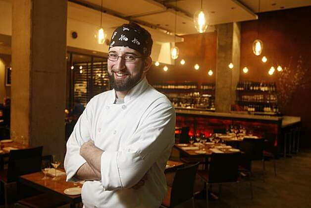 Former Moss Room Justin Simoneaux will be chef at the new Boxing Room in San Francisco. Photo: Craig Lee, The Chronicle