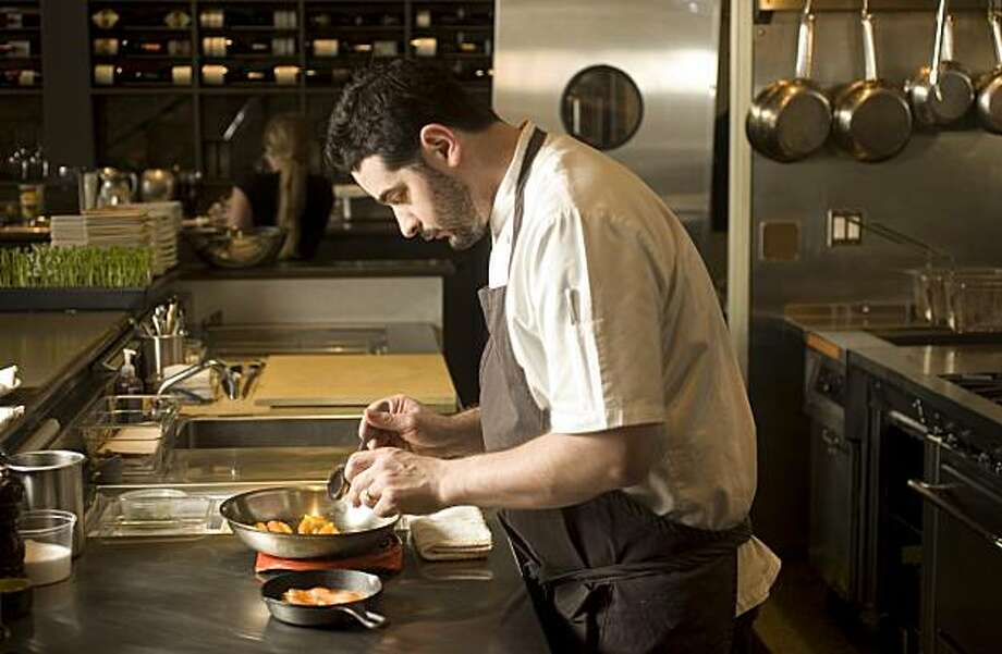 From the Chronicle Archives: Jeremy Fox making his carrot crumble at Ubuntu in 2008 Photo: Craig Lee, SFC