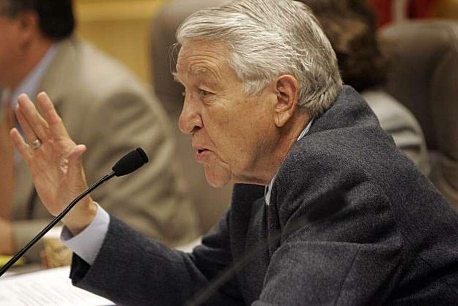 Senator Jack Scott Photo: Penni Gladstone, The Chronicle