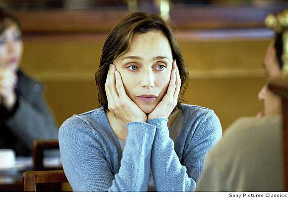 "Kristin Scott Thomas in ""I've Loved You So Long"" (2008). Photo: Sony Pictures Classics"