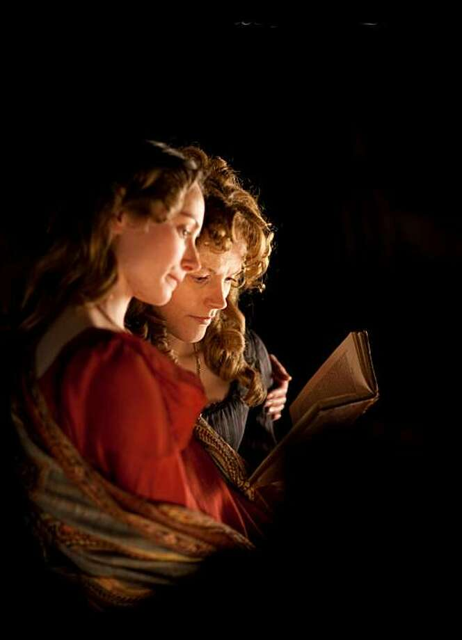"""Anna Madeley (L) and Maxine Peake(R) in """"The Secret Diaries of Miss Anne Lister"""" Photo: Frameline"""