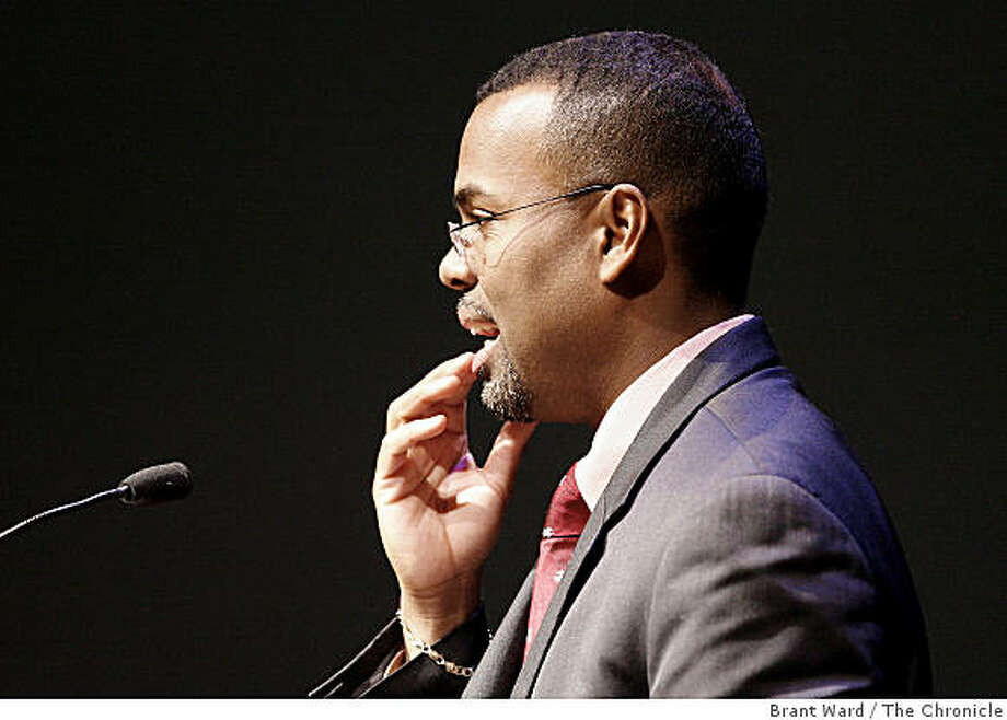 Eddie Glaude Jr. appears on the Covenant Tour in  San Francisco on Feb. 12, 2007. Photo: Brant Ward, The Chronicle