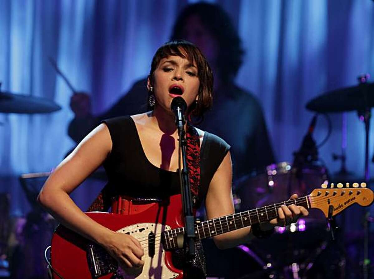 Norah Jones plays an intimate concert, Wednesday April 21, 2010 to a sold out crowd at the Fillmore in San Francisco, Calif. The concert was to introduce her new album and to launch her major arena tour.