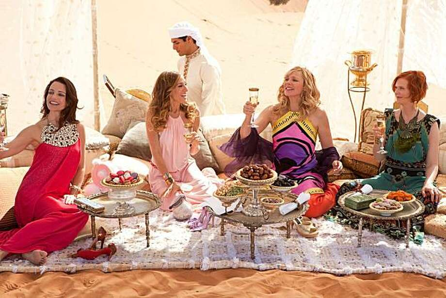 Sex and the City 2: Kristin Davis, Sarah Jessica Parker, Kim Catrall and Cynthia Nixon. Photo: Warner Bros.