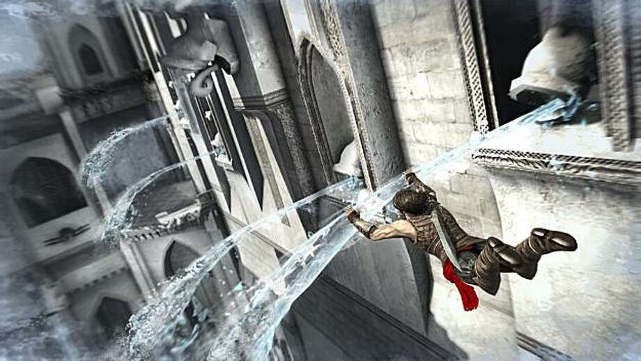 Stopping the flow of water is at the forefront of new powers in Prince of Persia: The Forgotten Sands. Photo: Ubisoft