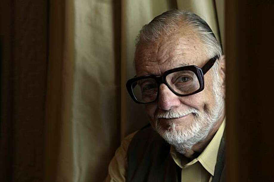 """Director George Romero sits for a portrait in San Francisco, Calif. on Thursday May 13, 2010.  Romero, is director of """"Night of the Living Dead"""" and """"Dawn of the Dead"""" and his latest """"Survival of the Dead."""" Photo: Lea Suzuki, The Chronicle"""