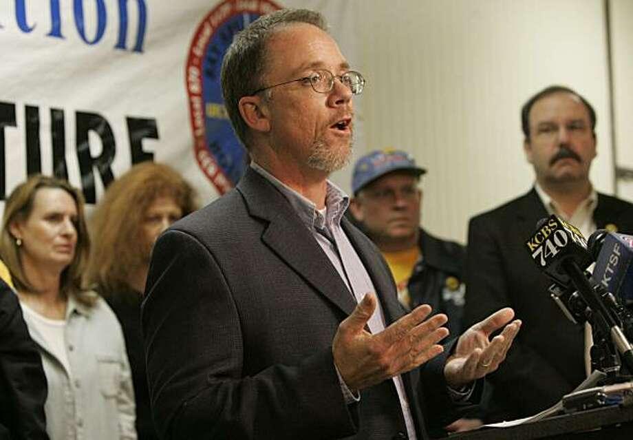 Ron Lind, union spokesman Photo: Penni Gladstone, The Chronicle