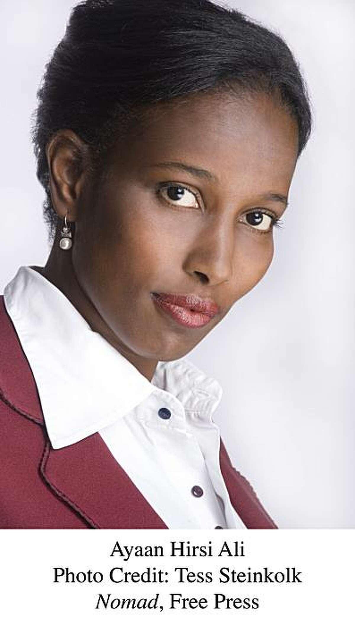 Ayaan Hirsi Ali, author of