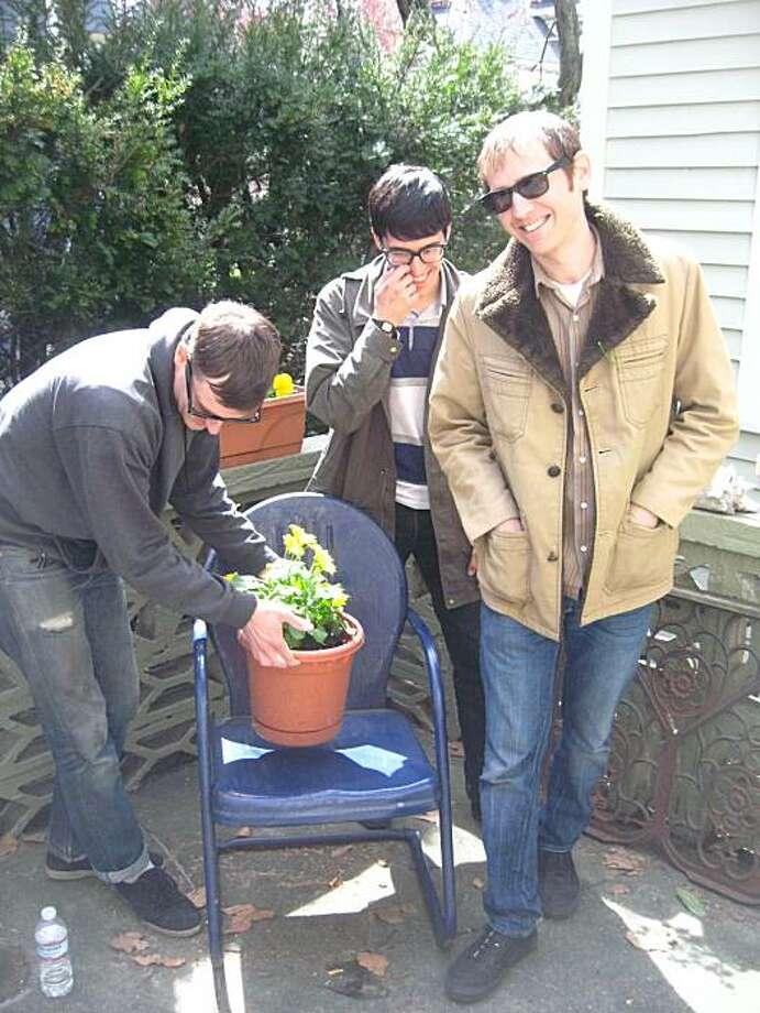 Nodzzz is L to R: Sean Paul Presley, Anthony Atlas, and Brian Girgus Photo: Kevin Pedersen
