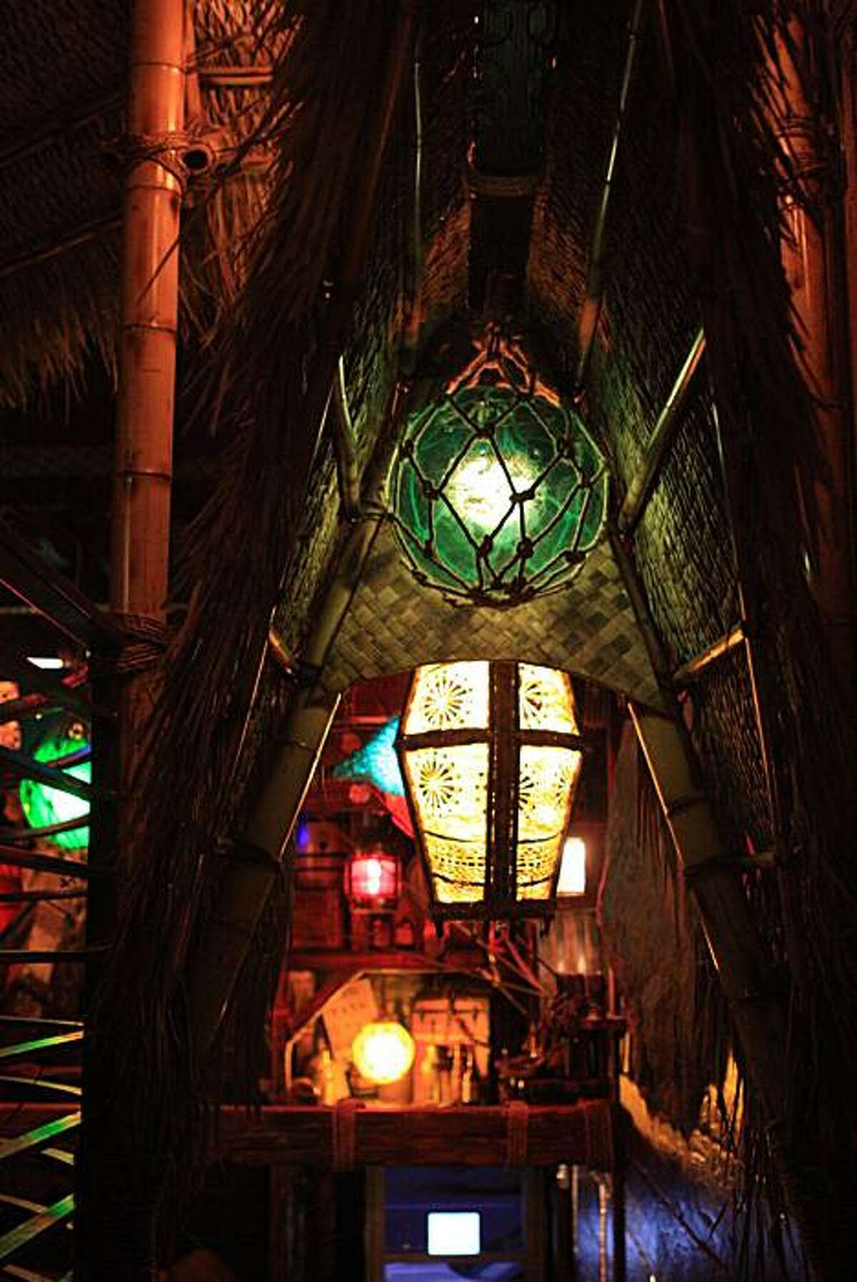 Smuggler's Cove, a neo-tiki bar in Hayes Valley run by Martin Cate.