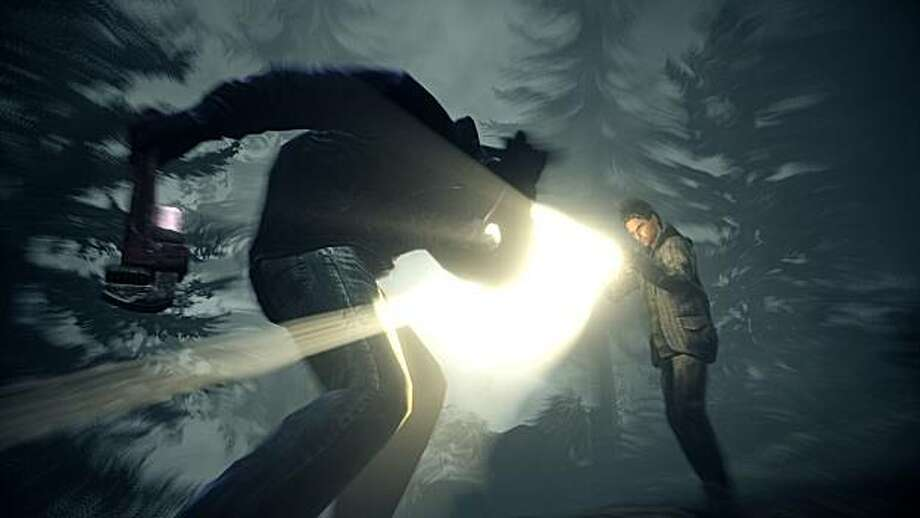 An image from action-adventure game Alan Wake. Best-selling suspense author Alan Wake searches for his missing wife in a small mysterious town. Photo: Remedy Entertainment, Microsoft Game Studios