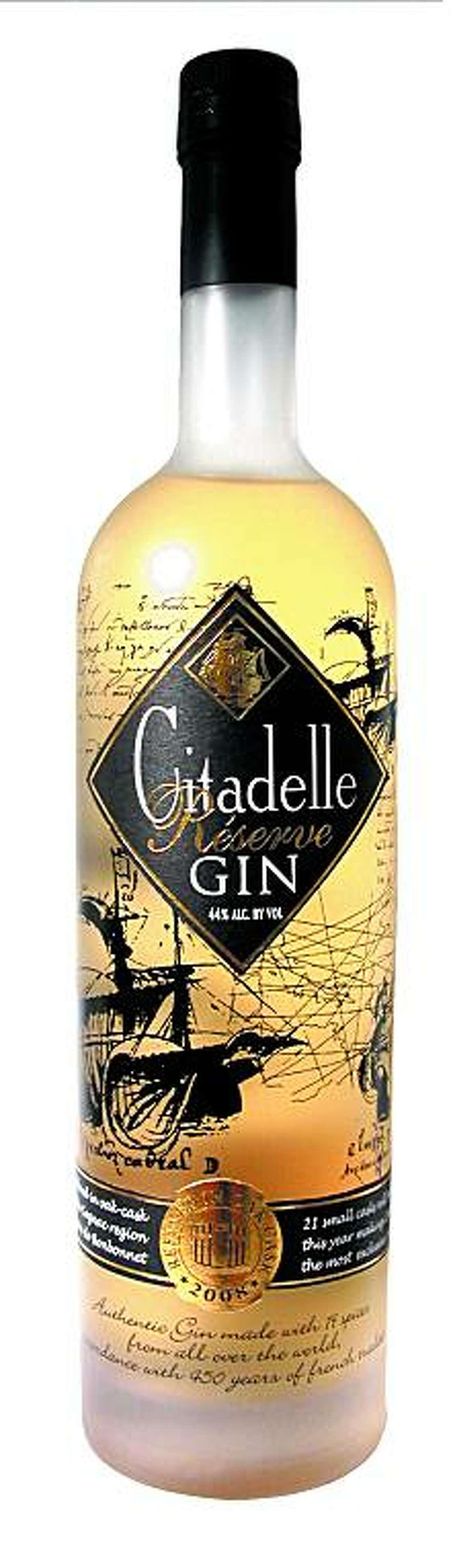 Citadelle Reserve Gin.Courtesy Cognac Ferrand USA, Inc.