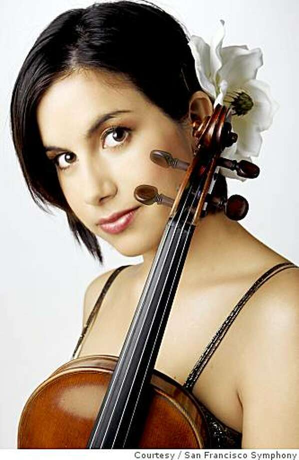Violinist Danielle Belen Nesmith will be performing at the San Francisco Symphony's First Annual Dia de los Muertos Family Concert on Nov 2nd at Davies Symphony Hall.Courtesy of San Francisco Symphony Photo: Courtesy, San Francisco Symphony