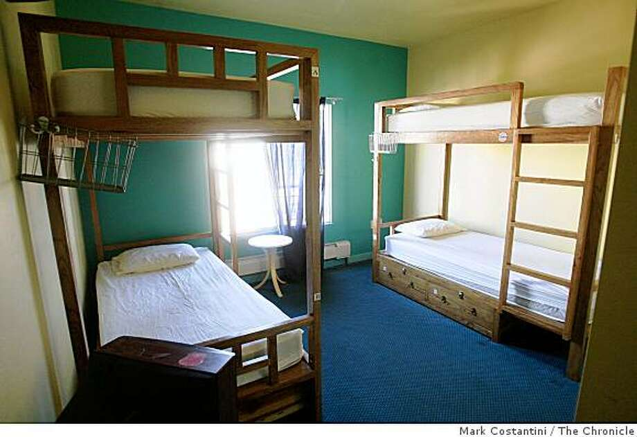 Hostel-style room at the Elements hotel is photographed in San Francisco, Calif., on Wednesday, October 22, 2008 Photo: Mark Costantini, The Chronicle