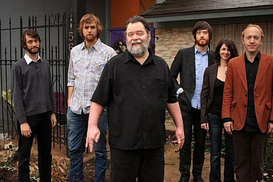 Roky Erickson and Okkervil River Photo: Todd Wolfson