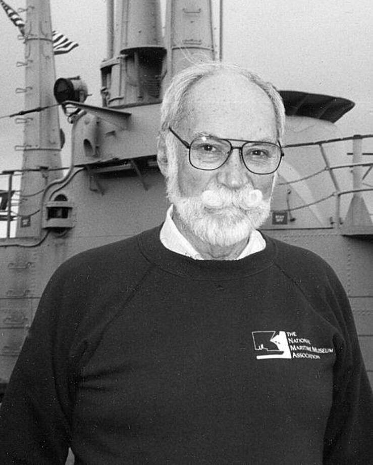 Robert J. Taylor, whose quiet, low-key presence made him a stalwart member of the crew of the USS Pampanito, a World War II submarine docked as a memorial in San Francisco, died April 28 after a long struggle with cancer. Mr. Taylor was 80 and lived in San Francisco. Photo: Courtesy Of SF, Maritime National Park Assoc.