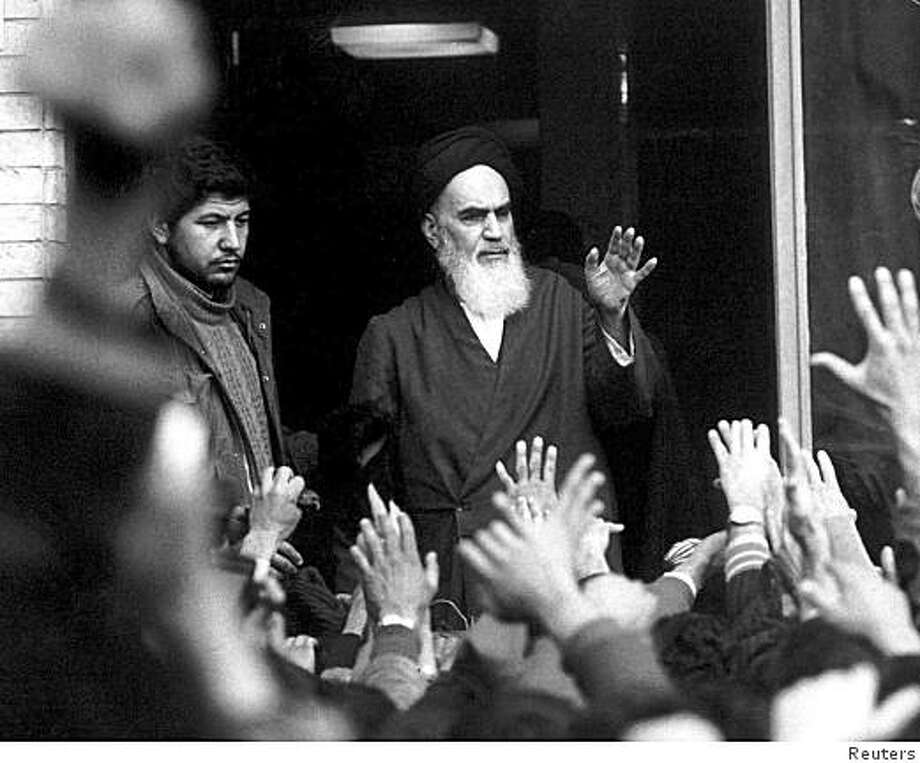 The late leader and founder of the Islamic revolution Ayatollah Khomeini Photo: IRNA,, Reuters