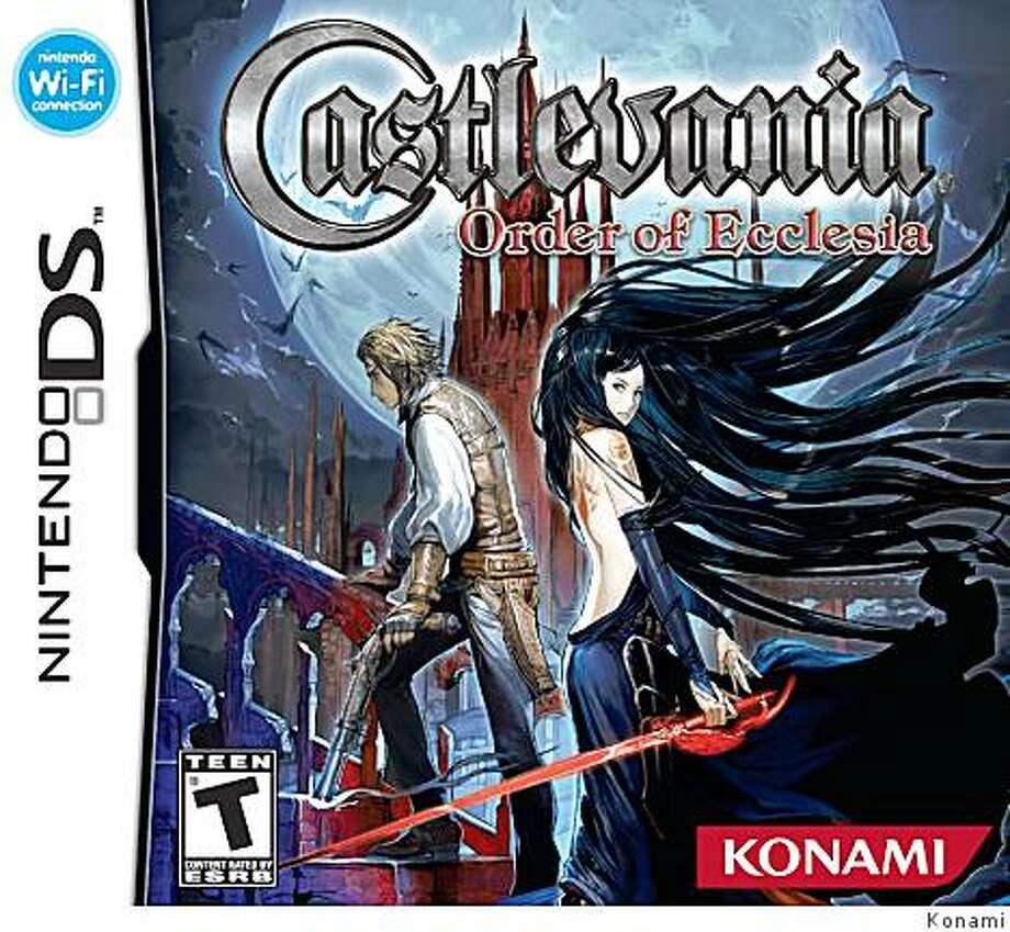 Castlevania: Order of Ecclesia, available for Nintendo DS Photo: Konami