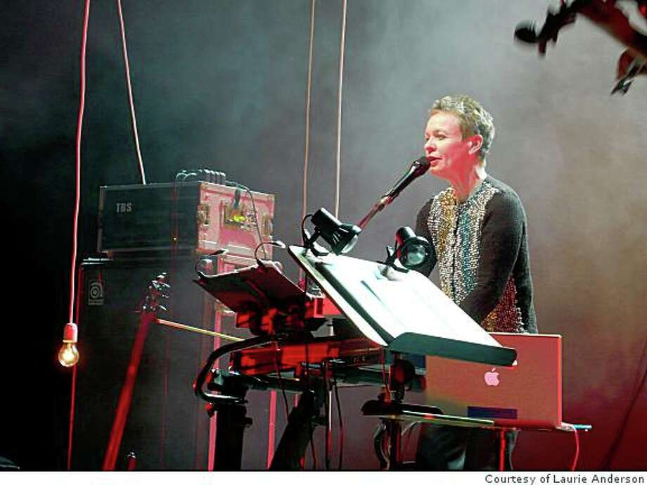 """Laurie Anderson will be performing her first major multimedia piece """"Homeland"""", in the Cal Performances season at UC Berkeley. Photo: Courtesy Of Laurie Anderson"""