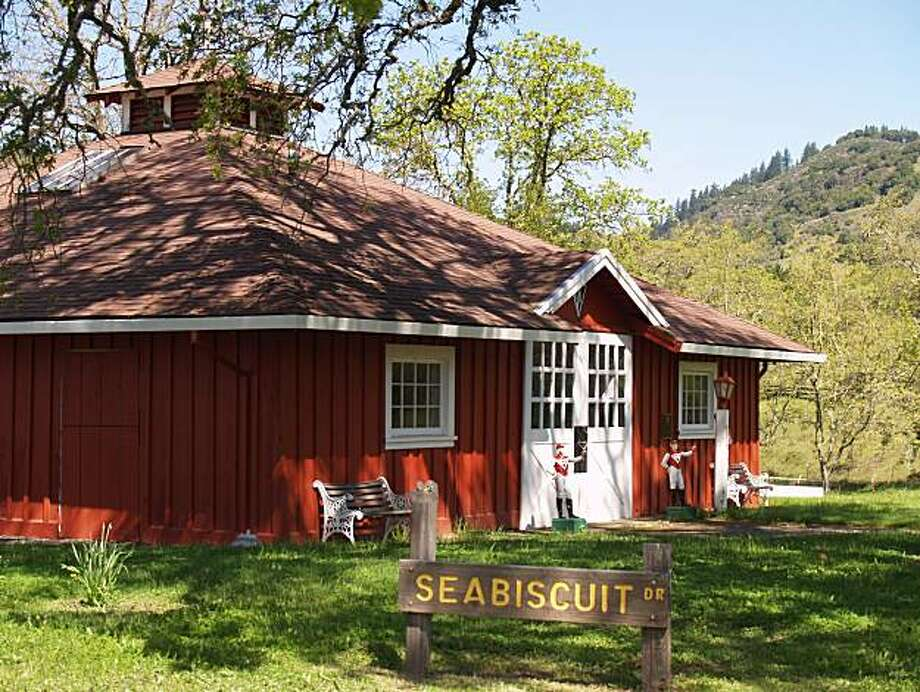 Stud barn at Ridgewood Ranch, home of Seabiscuit, in Willits, Calif. Photo: Yvonne Michie Horn, Special To The Chronicle