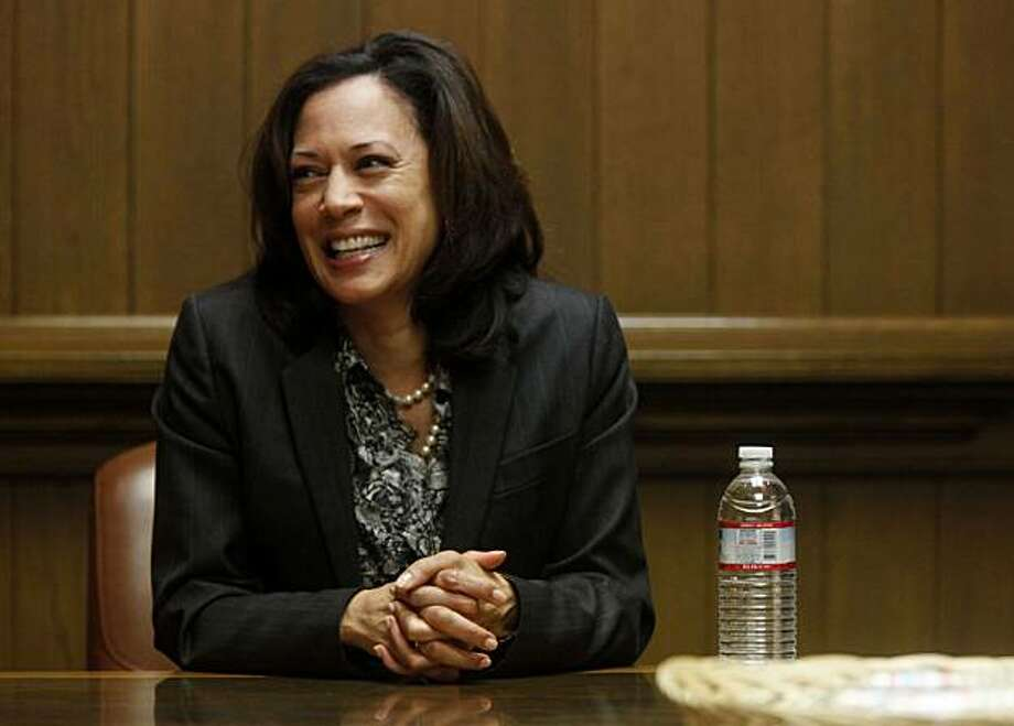 San Francisco District Attorney Kamala Harris, who is running for state Attorney General, speaks with the San Francisco Chronicle editorial board at the Chronicle on Thursday April 22, 2010 in San Francisco, Calif. Photo: Mike Kepka, The Chronicle