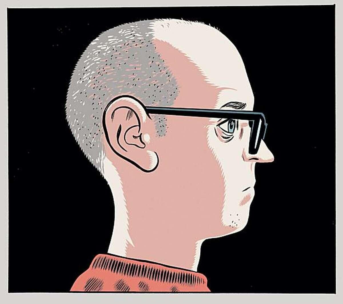 Daniel Clowes self-portrait.