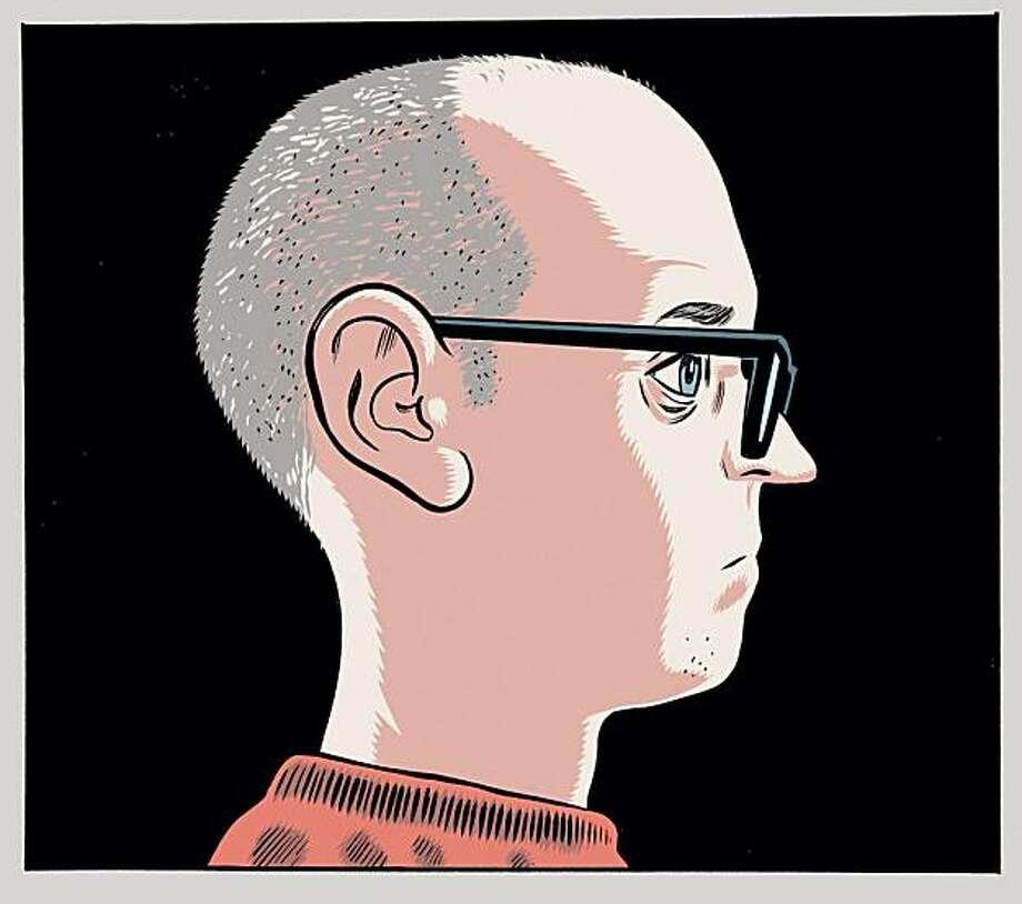 Daniel Clowes self-portrait. Photo: Courtesy Drawn And Quarterly