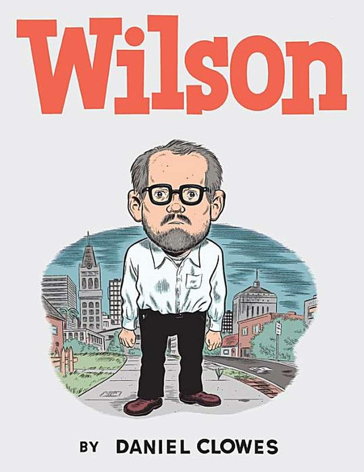 "Daniel Clowes' new book, ""Wilson."""