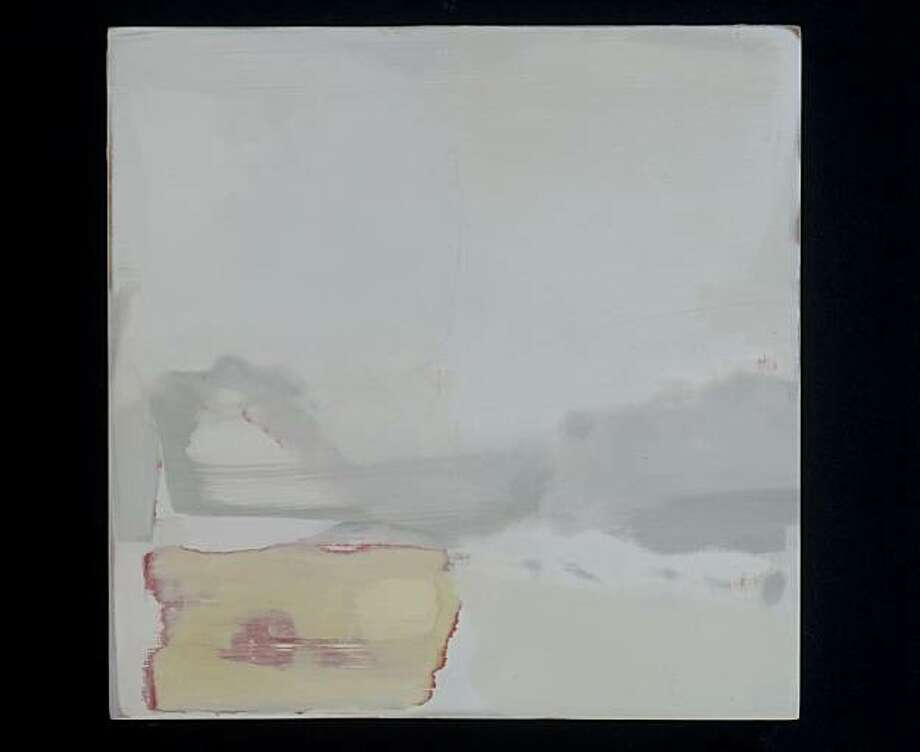 """Seta"" (2010) oil on panel by  Kimetha Vanderveen  8"" x 8"" Photo: Ira Shrank, Mina Dresden Gallery, S.F."