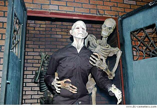 The DC Cemetery  in Mountain View, a Halloween attraction. Photo: Www.dc-cemetery.com