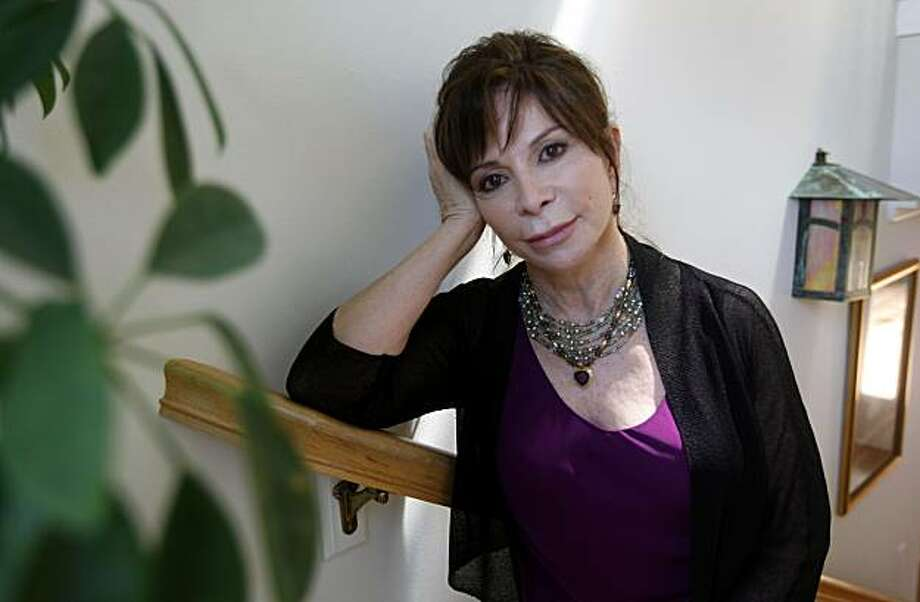 """Author Isabel Allende talks about her latest novel, """"The Island Beneath the Sea,"""" in Sausalito, Calif., on Tuesday, April 20, 2010. Photo: Paul Chinn, The Chronicle"""