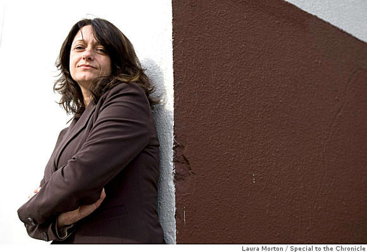 """Lauri Lebo is the author of """"The Devil in Dover,"""" an account of the Dover, PA school board's attempt in 2004 and 2005 to require science teachers to teach creationism. Photographed in San Francisco, Calif., on Monday, October 27, 2008."""