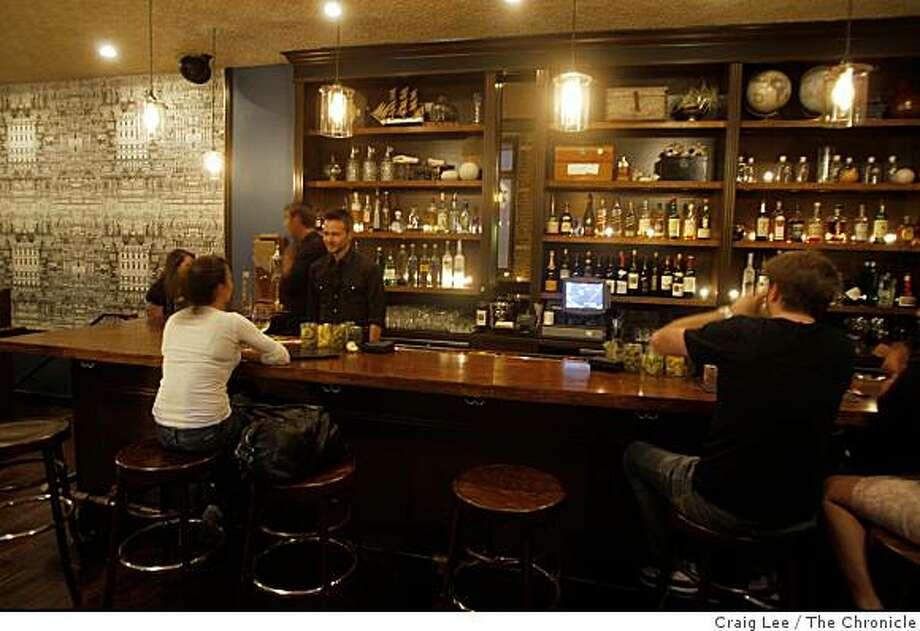 Taverna Aventine bar in San Francisco, Calif., on October 20, 2008. Photo: Craig Lee, The Chronicle
