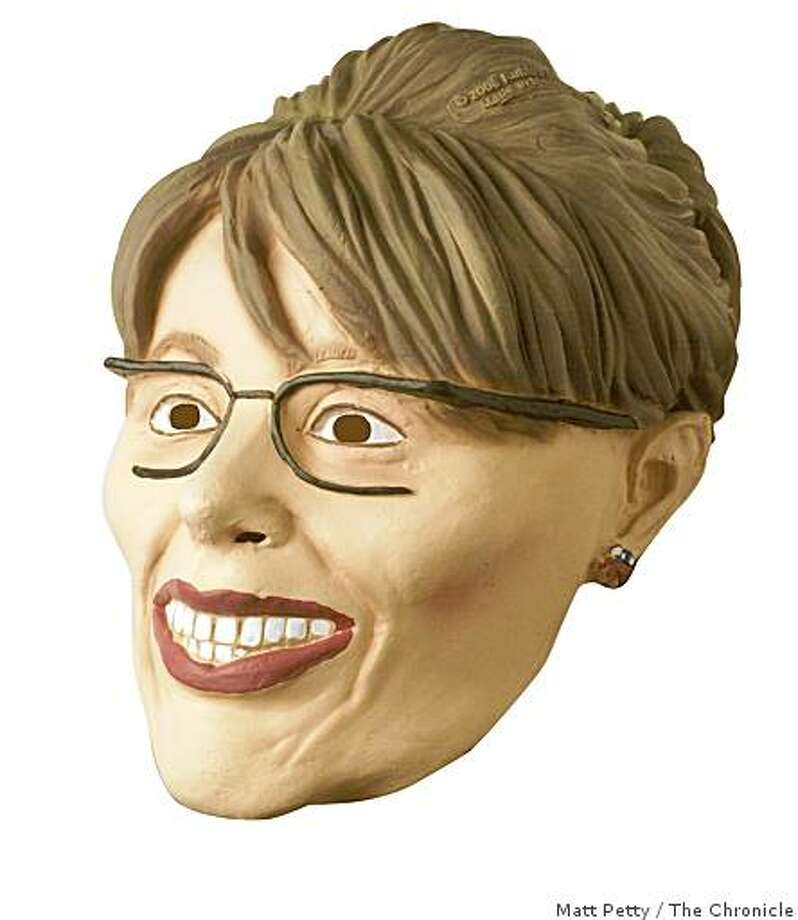 We purchased a rubber Sarah Palin mask at Amaon.com for $29.99 last week, not counting the shipping. Photo: Matt Petty, The Chronicle