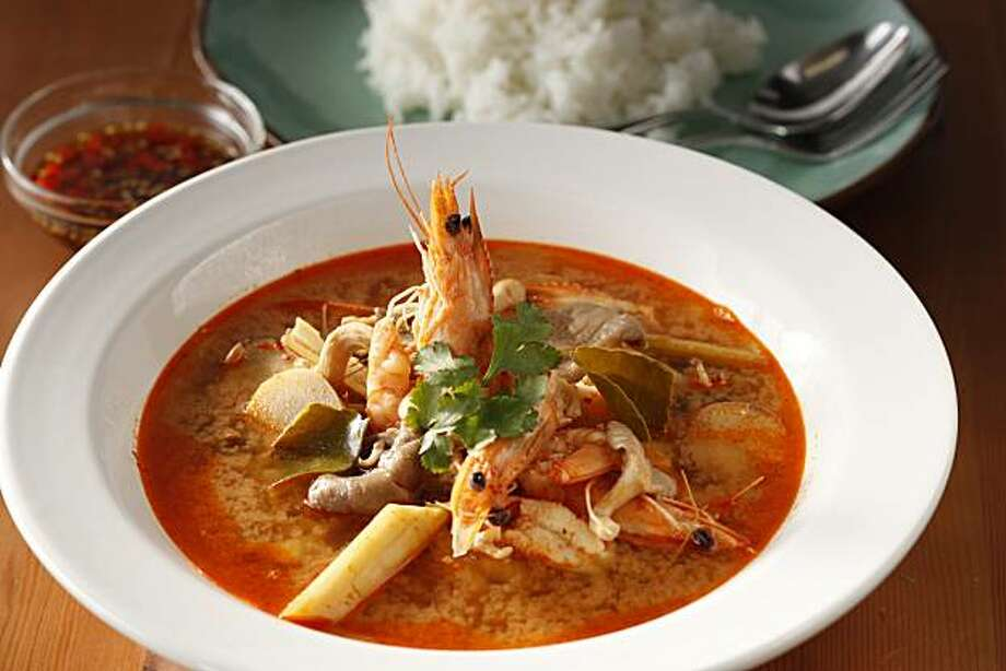 Tom Yum Goong in San Francisco, Calif., on March 24, 2010. Food styled by Pailin Chongchitnant. Photo: Craig Lee, Special To The Chronicle