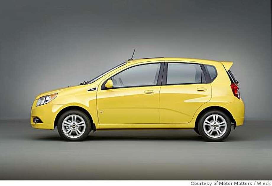 Chevrolet Aveo5 Photo: Courtesy Of Motor Matters, Wieck