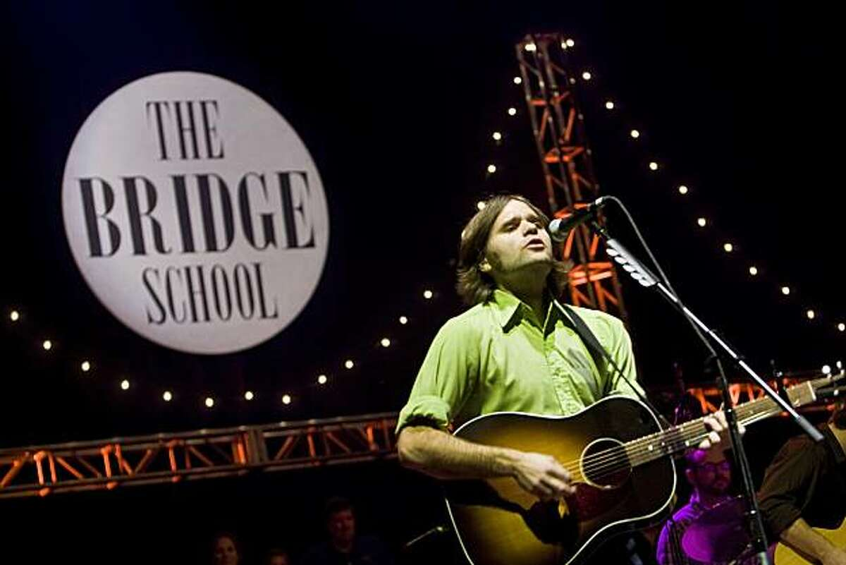 Ben Gibbard of Death Cab for Cutie performs at the 22nd annual Bridge School Benefit Concert at the Shoreline Amphitheatre October 25, 2008 in Mountain View, California.