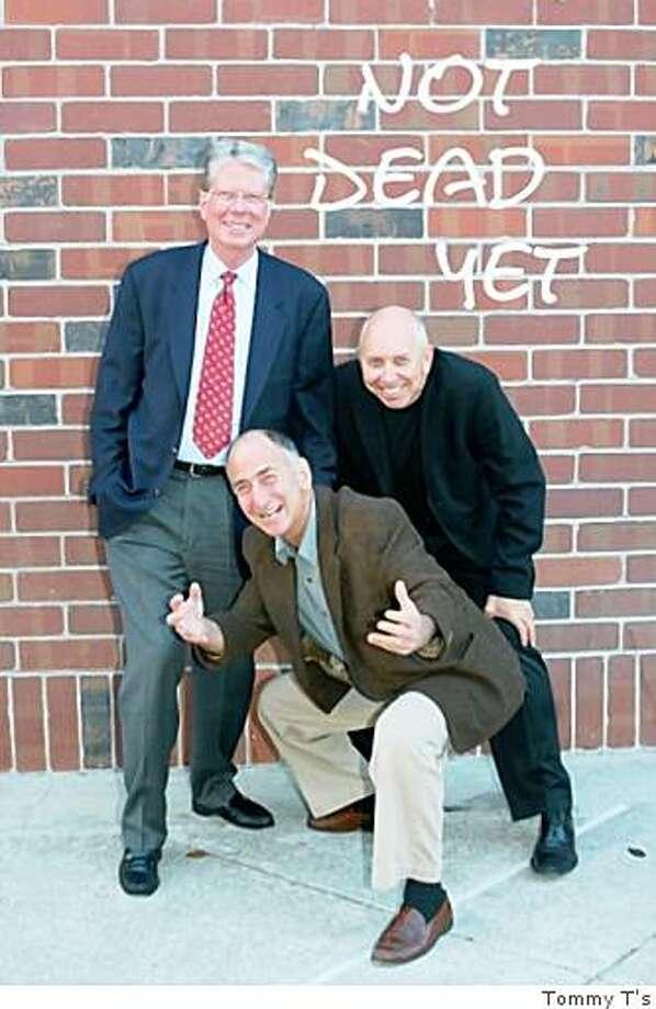 Comics Ken Koskella, David VanAvermaete, David Kleinberg (front) Photo: Tommy T's