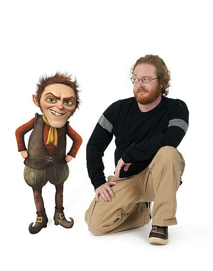 "Walt Dohrn voices Rumplestiltskin in ""Shrek Forever After."" Photo: Mathieu Young, Paramount Pictures"